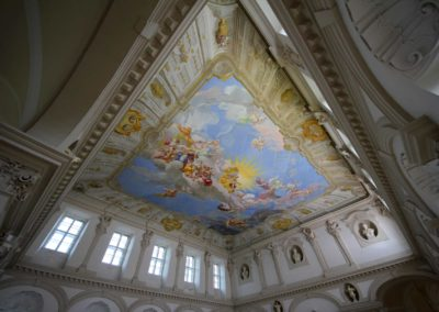 Church museum ceiling fresco