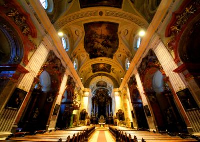 Sanctuary of the Cathedral in Krems