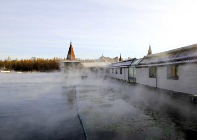 The Steam off the Water