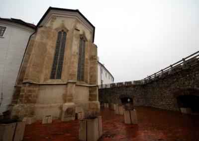 Outside of the chapel