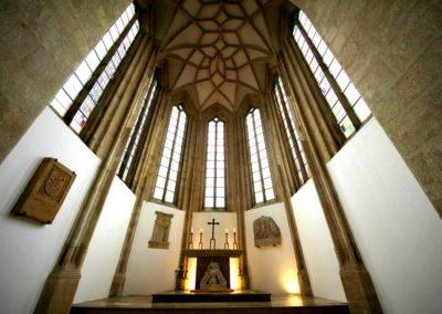 Rebuilt after WWII