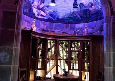 Expansive Wine Tasting Room