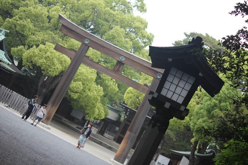 Entrance to Meiji Shrine