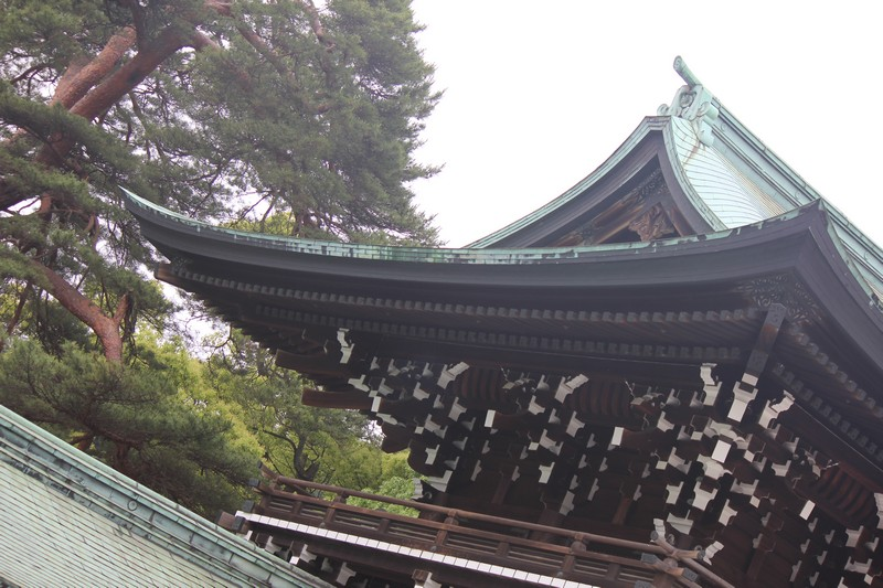Meiji Shrine architecture