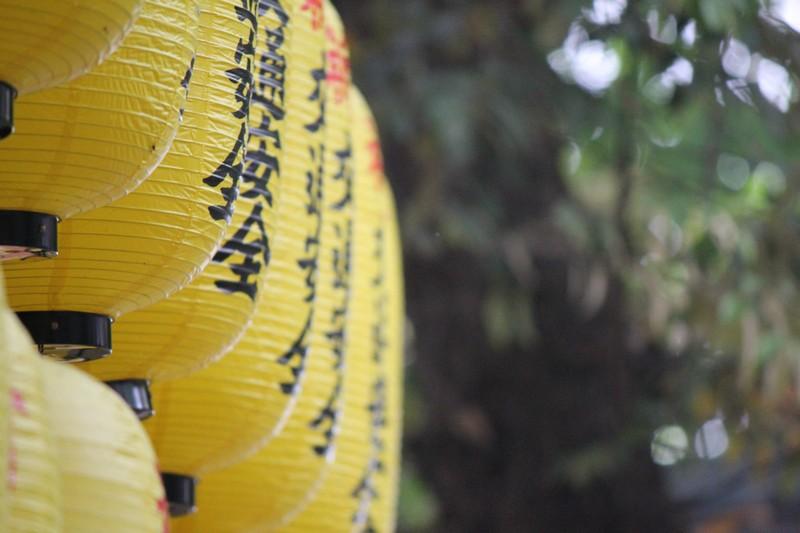 Yellow Lanterns at Inari